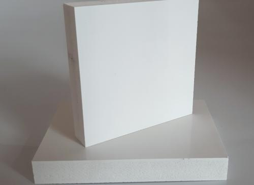 PVC EXP BLANC BRILLANT 1200x500x5 mm