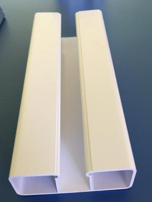 Traverse PVC Blanc 80x32 mm/ml